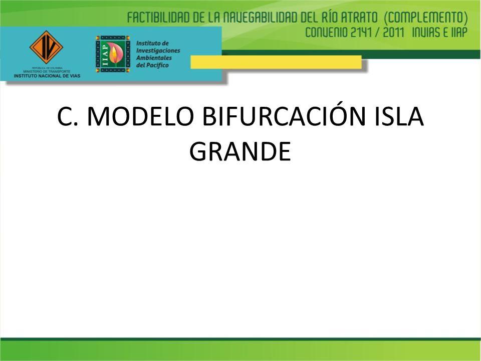 C. MODELO BIFURCACIÓN ISLA GRANDE
