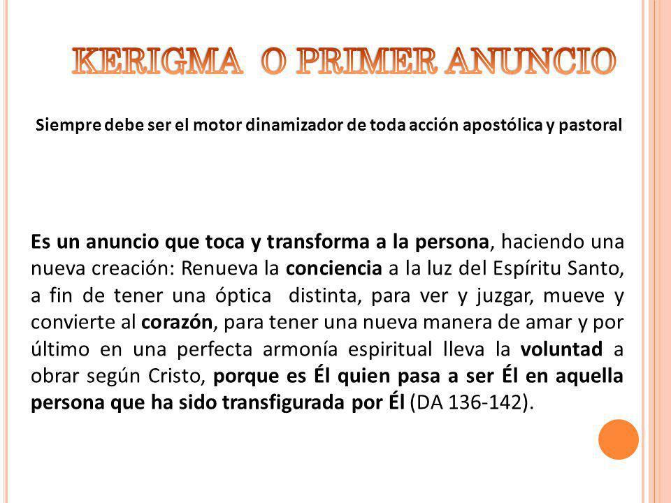 1.COMO PROCLAMACIÓN: Ser testimonio, en nombre de la Iglesia, de forma adecuada (DA 143 - 145).