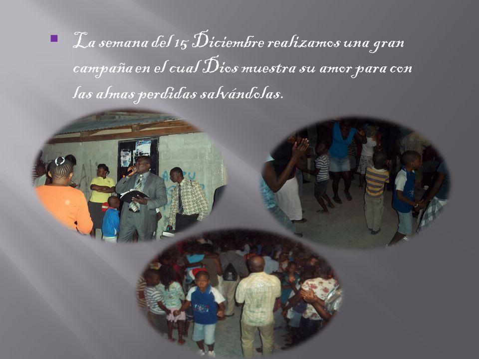 El Trabajo de la iglesia central sigue su marcha nuestro director Álvaro Torres envió a nuestro hermano Alberto de Republica Dominicana para que termi