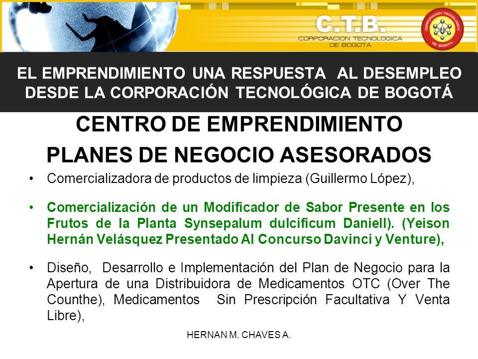 CENTRO DE EMPRENDIMIENTO PLANES DE NEGOCIO ASESORADOS Comercializadora de productos de limpieza (Guillermo López), Comercialización de un Modificador