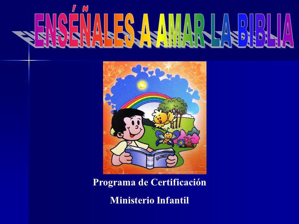 Programa de Certificación Ministerio Infantil