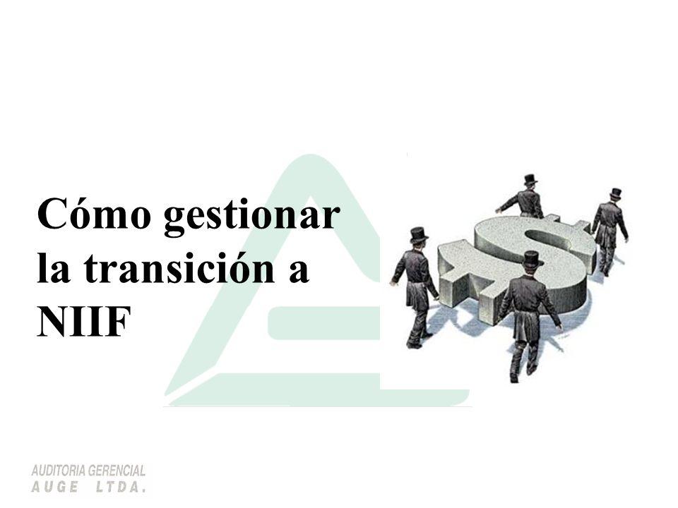 Se requiere entrada de datos nuevos para cumplir con el tratamiento establecido en las NIIF.