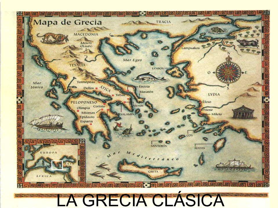 El enfrentamiento entre Atenas y Esparta Las guerras del Peloponeso El poderío de Atenas amenazó a otras polis importantes como Esparta.