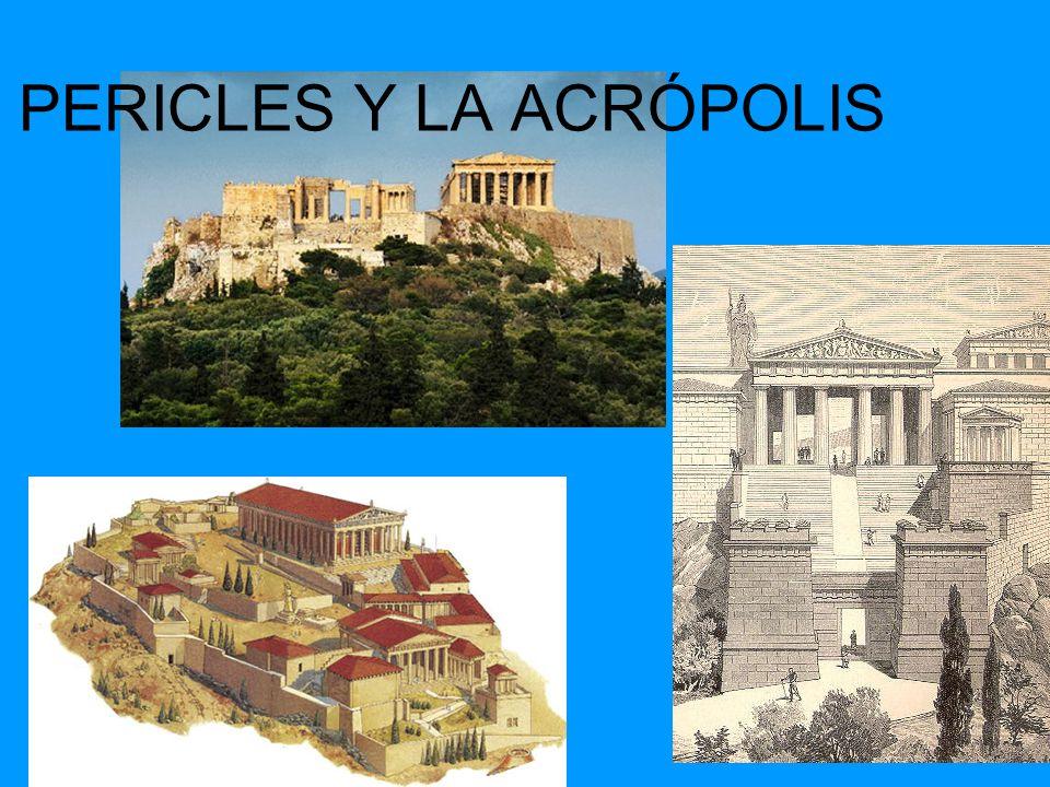 PERICLES Y LA ACRÓPOLIS