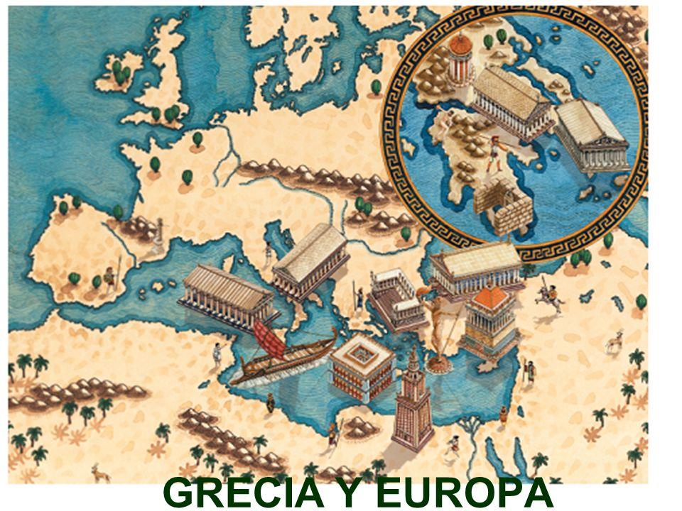EL MUNDO GRIEGO La civilización griega surgió en el extremo oriental del Mediterráneo, en el sur de la península de los Balcanes.