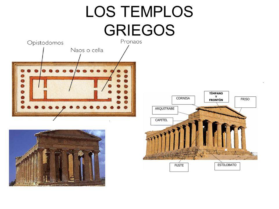 LOS TEMPLOS GRIEGOS