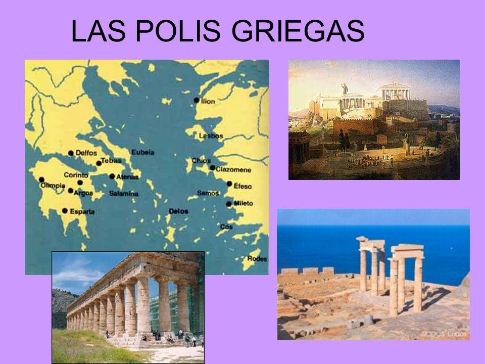 LA EXPANSIÓN GRIEGA Entre los siglos VIII y VI a.c.
