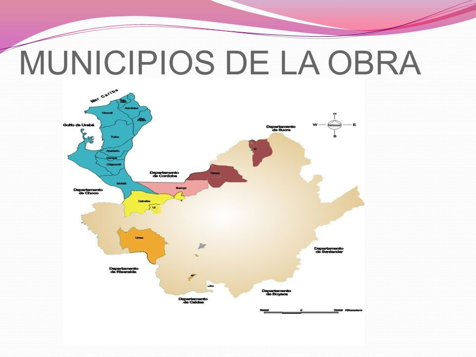 MUNICIPIOS DE LA OBRA