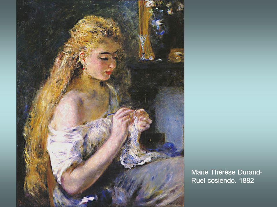Niña con un ave, Mademoiselle Fleury vestida de argelina. 1882