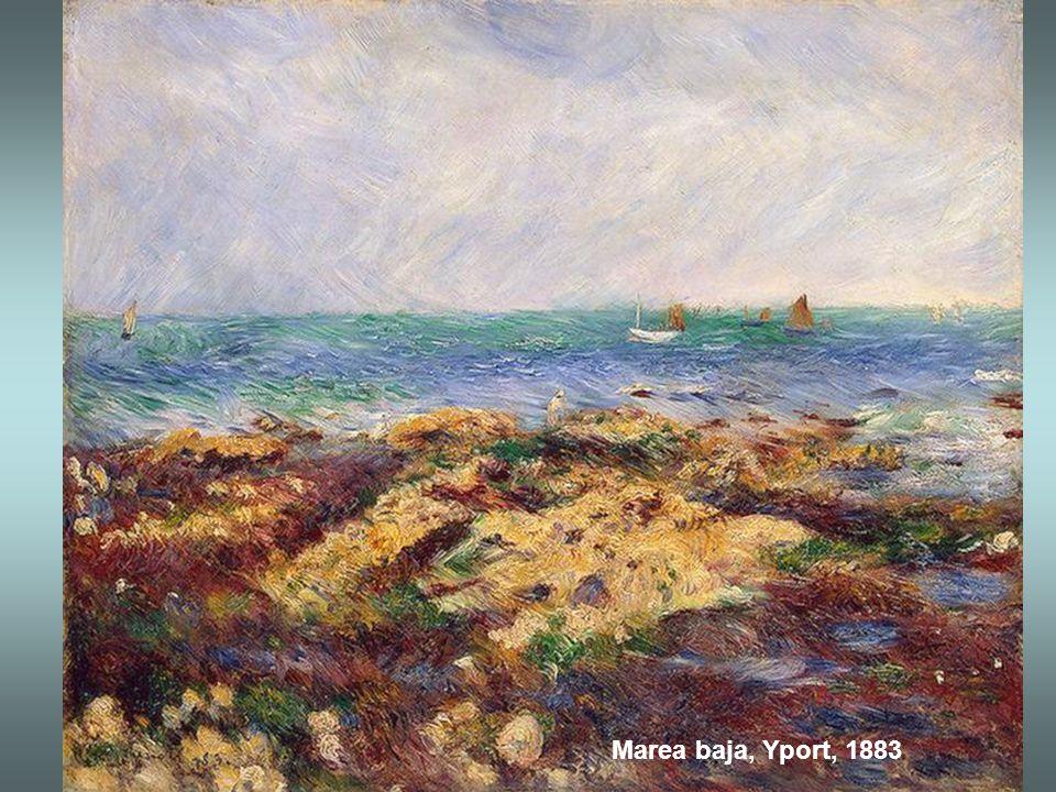 Bahía de Nápoles al atardecer, 1881