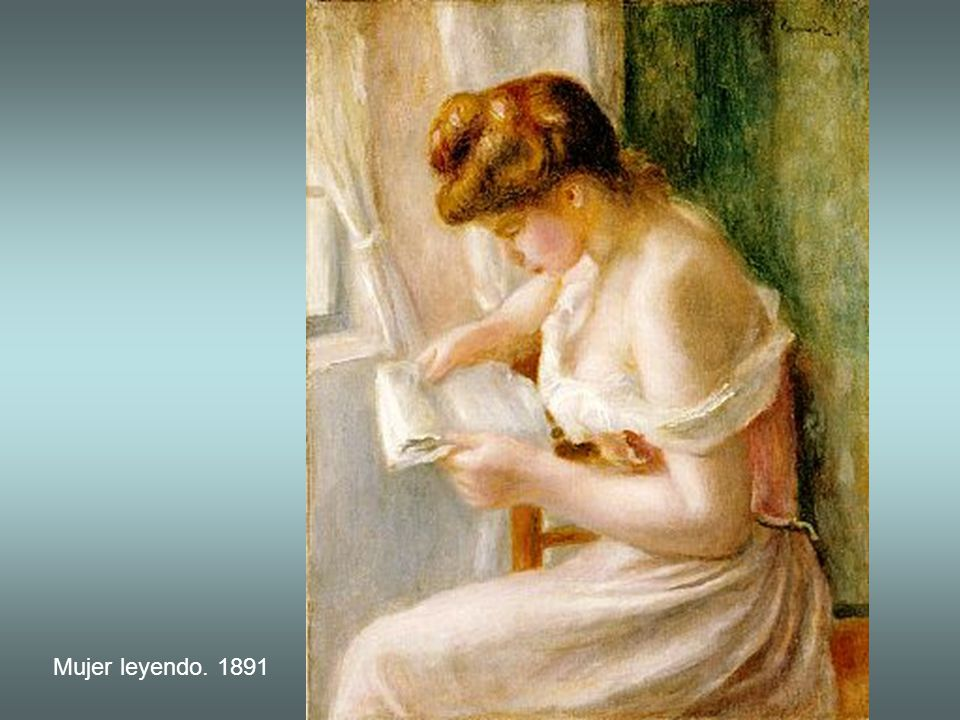 La carta, hacia 1895-1900
