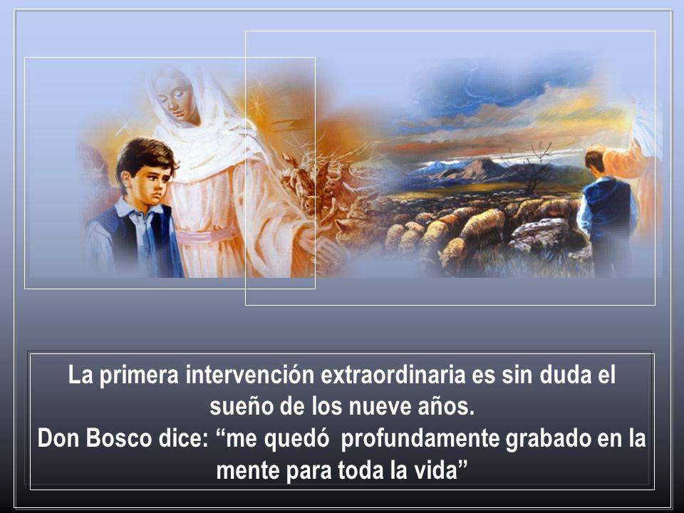 Primera etapa: en el origen de la vocación y misión de don Bosco, la Auxiliadora se revela como la buena Pastora de los jóvenes