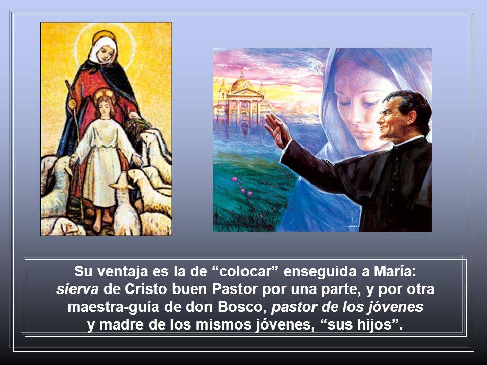 El sueño de los nueve años, don Bosco lo repetirá muchas veces, con detalles nuevos. Siendo joven sacerdote en búsqueda de su apostolado, María se pre