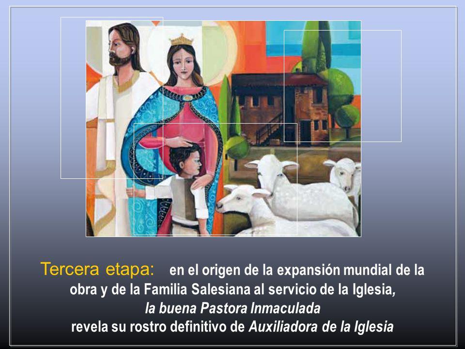 el misterio de la Inmaculada Concepción aparece a don Bosco no tanto en su realidad pasada, como un privilegio individual de preservación del pecado p