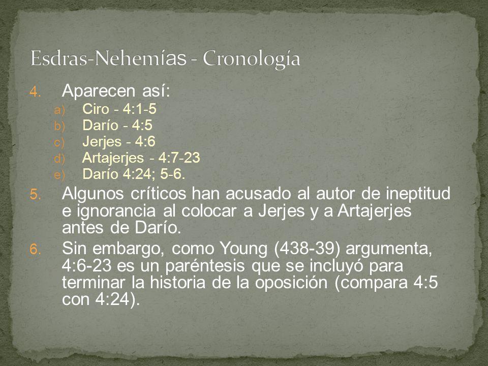 I.Primer regreso de los exiliados - Es 1:1 a 2:70 II.