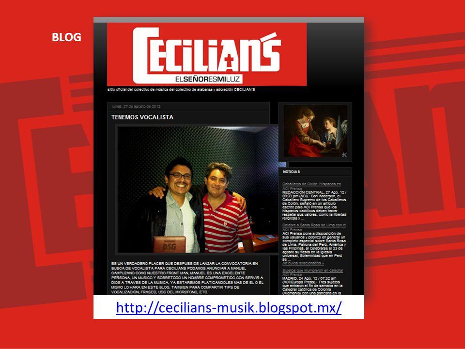 http://cecilians-musik.blogspot.mx/ BLOG