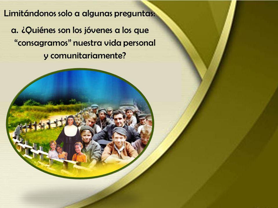 2. Volver a los jóvenes, desde una mayor cualificación Fue precisamente entre los jóvenes donde Don Bosco diseñó su estilo de vida, su patrimonio past