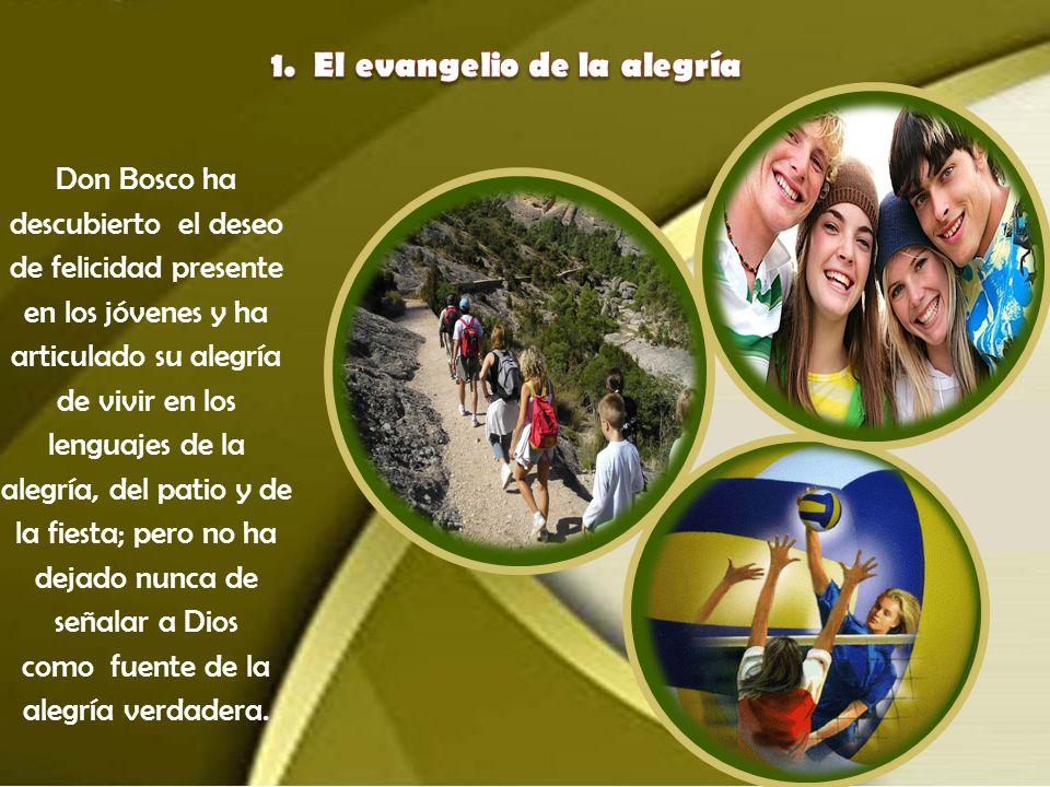 A partir del conocimiento de la pedagogía de Don Bosco, los grandes puntos de referencia y los compromisos del Aguinaldo 2013 son los siguientes: El e