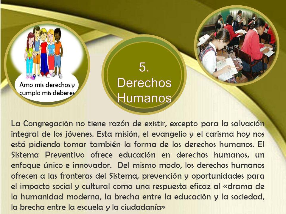 Don Bosco sabía resaltar todo lo positivo enraizada en la vida de las personas y en los acontecimientos de la historia. Esto lo llevó a comprender los