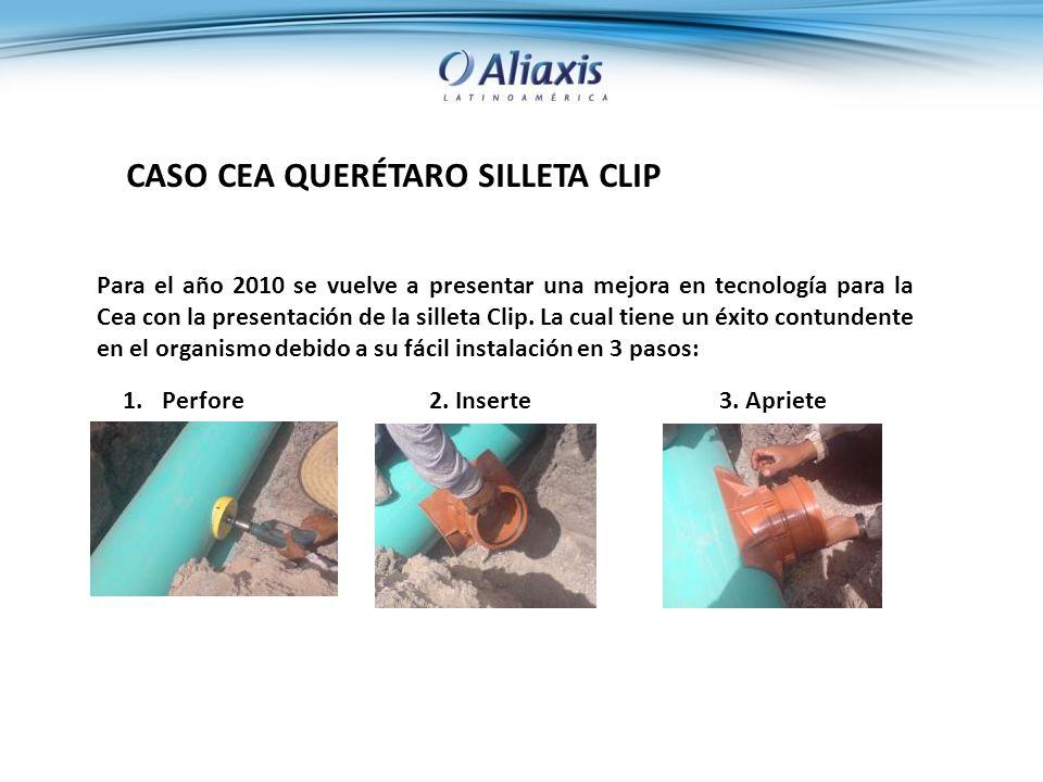 CASO CEA QUERÉTARO SILLETA CLIP Para el año 2010 se vuelve a presentar una mejora en tecnología para la Cea con la presentación de la silleta Clip.