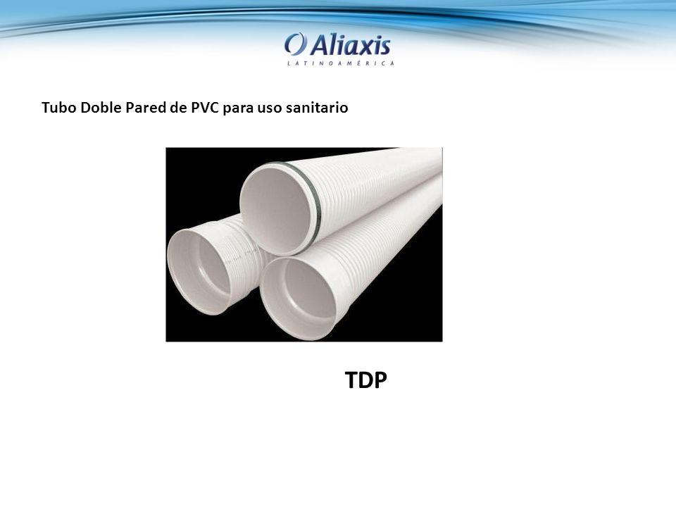 Tubo Doble Pared de PVC para uso sanitario TDP