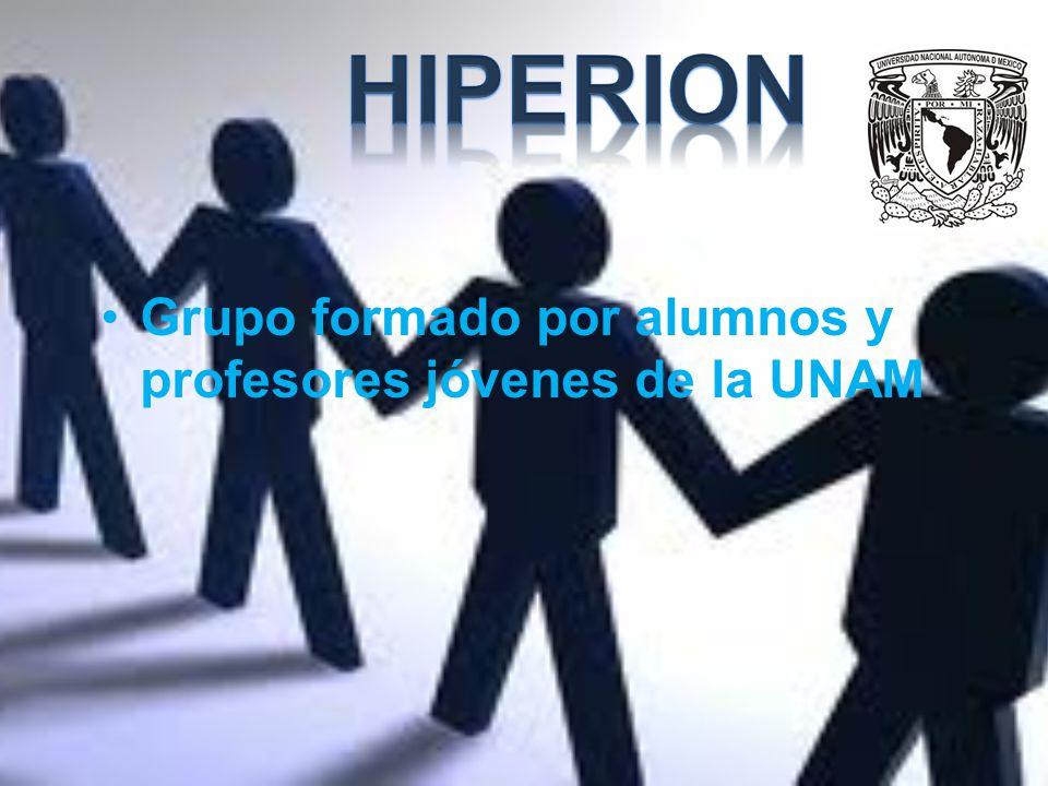 Grupo formado por alumnos y profesores jóvenes de la UNAM