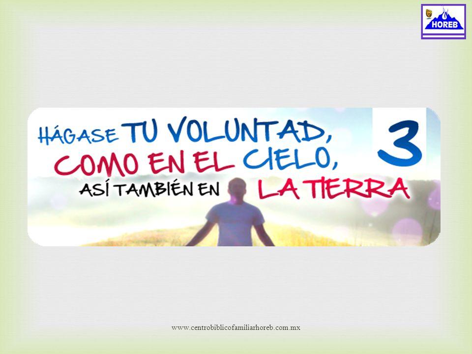 www.centrobiblicofamiliarhoreb.com..mx Deseos Para Con Dios
