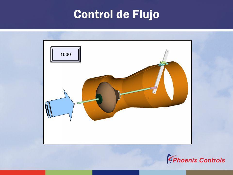 50 1002003004006008001000 Control de Flujo