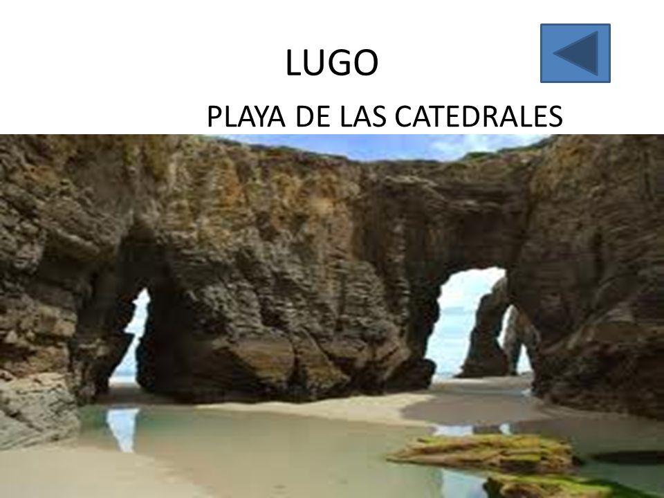 LUGO PLAYA DE LAS CATEDRALES