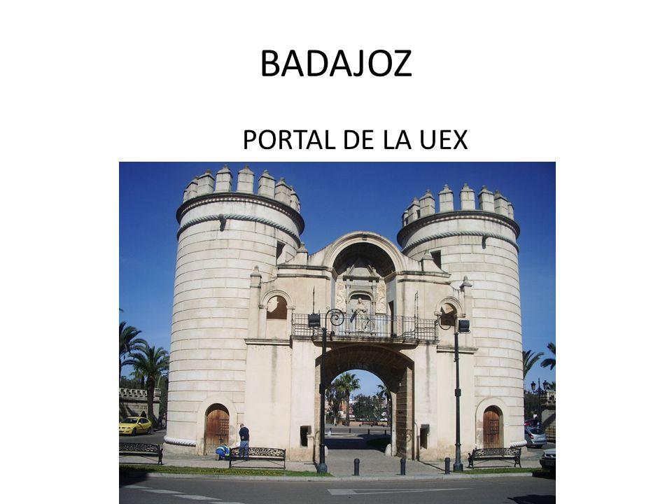 BADAJOZ PORTAL DE LA UEX
