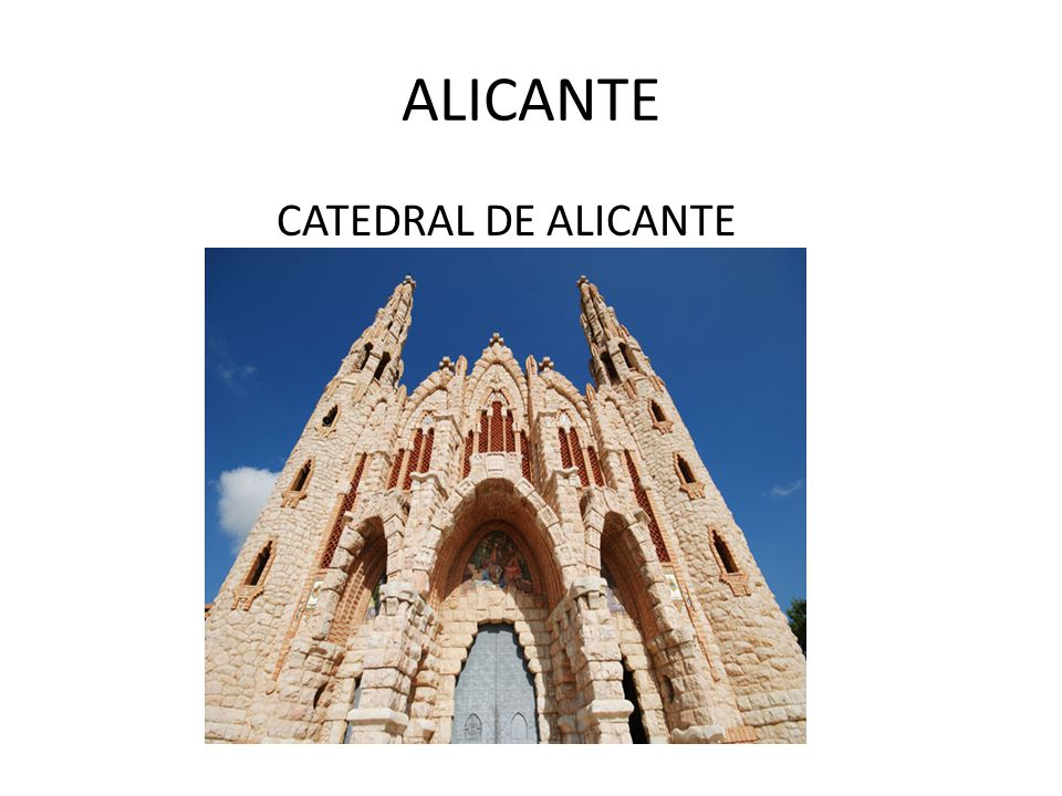 ALICANTE CATEDRAL DE ALICANTE