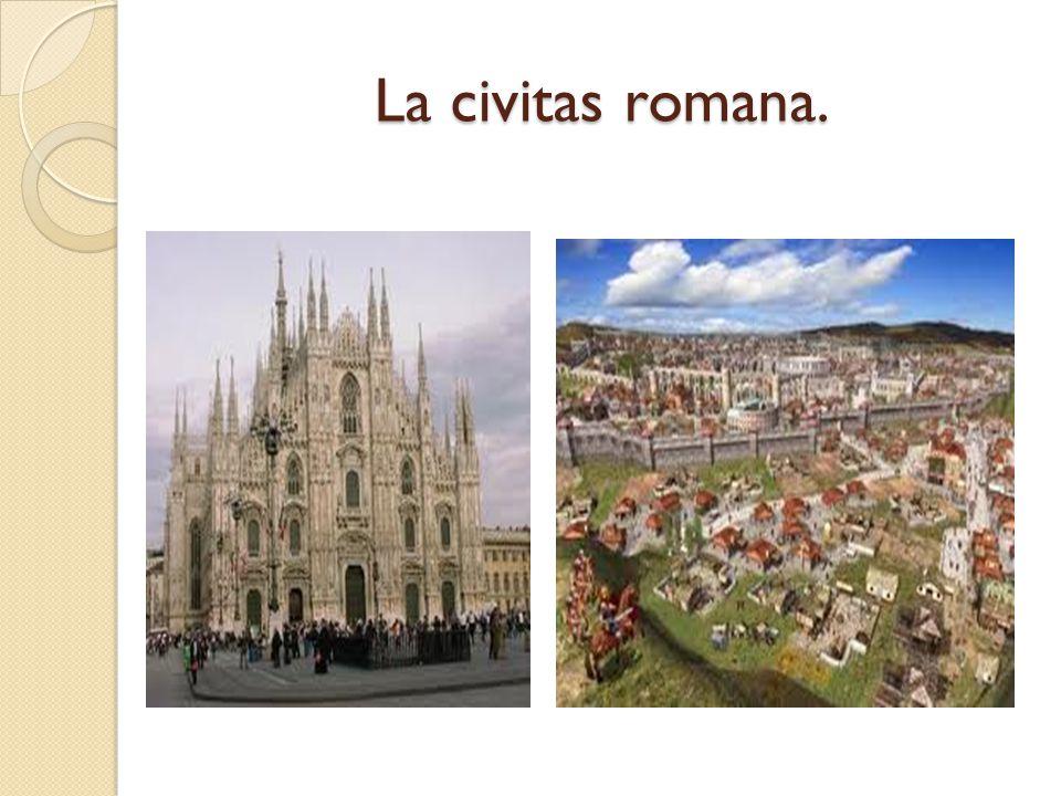 La civitas romana.