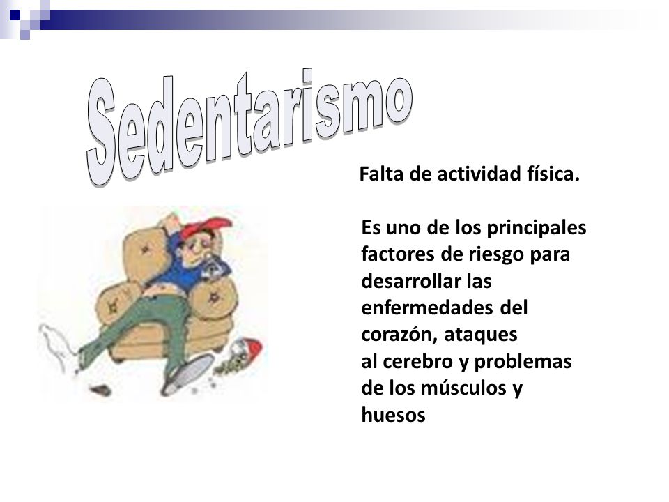 La ausencia de actividad física sistemática es una causa importante de muerte, enfermedad e incapacidad.
