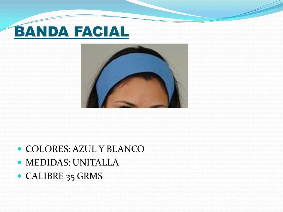 BATA STRAPLESS COLORES: AZUL Y BLANCO MEDIDAS: UNITALLA CALIBRE 25 GRMS