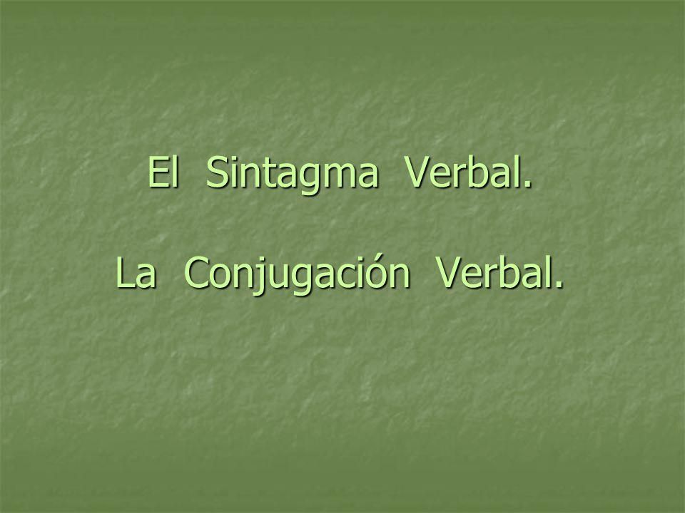 El Verbo: concepto Expresa el juicio mental.Expresa el juicio mental.