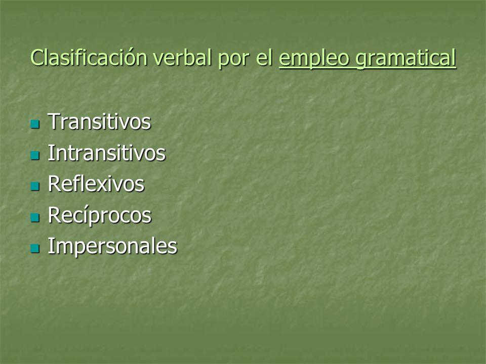 Complementos Complementos del verbo: Complementos del verbo: Directo.
