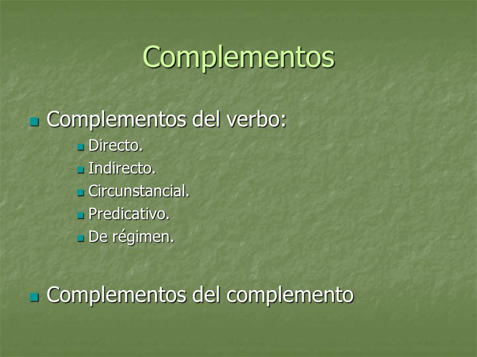 Formas Verbales Por la referencia al sujeto: Por la referencia al sujeto: Personales, Personales, Impersonales.