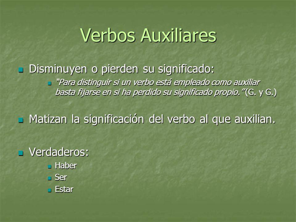 La Expresión Temporal Mayor precisión en el indicativo que en el subjuntivo.