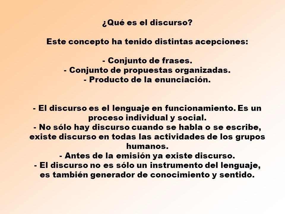 LENGUAJE DISCURSO - sentido SISTEMAS DE REPRESENTACIÓN: LENGUA, MÚSICA, IMÁGENES, NÚMEROS...