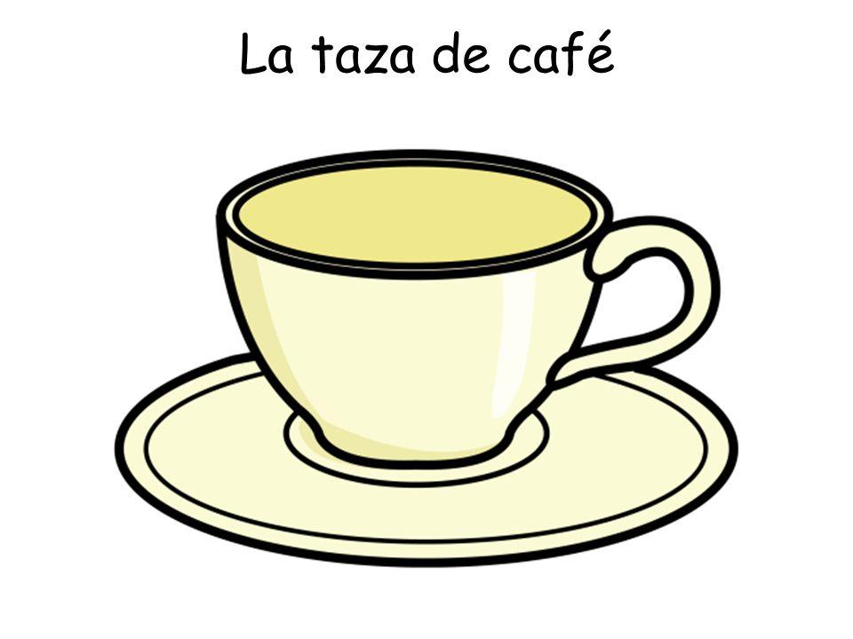 La taza de café