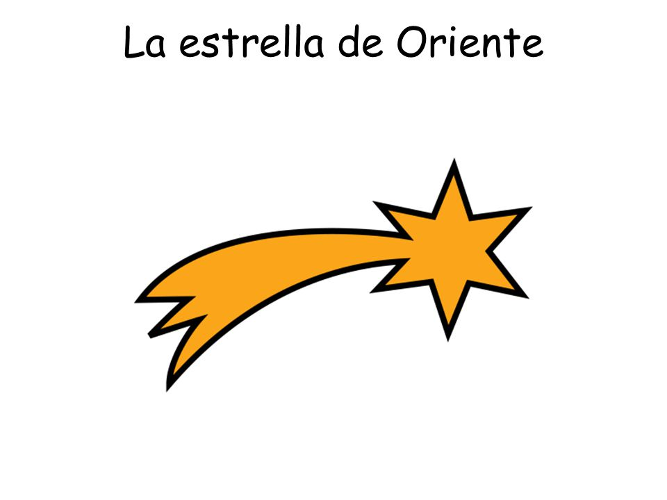 La estrella de Oriente