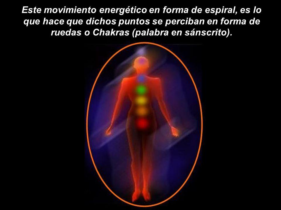 Desde el nacimiento, todas las personas continuamente absorben e irradian energía, a través de unos minúsculos puntos que permanecen abiertos y activo