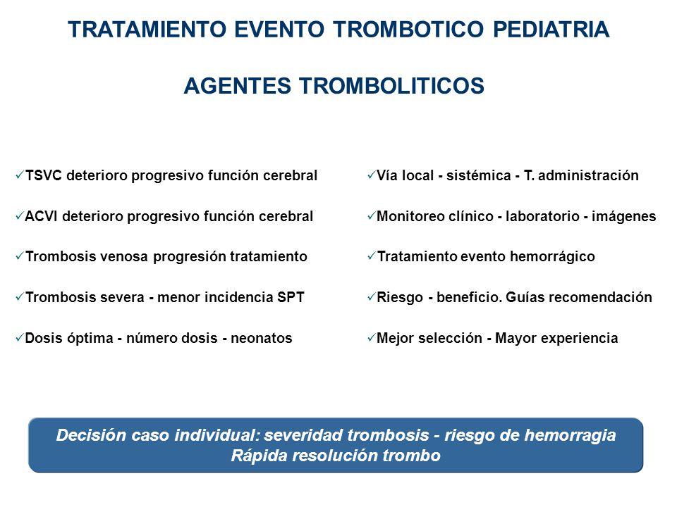 TSVC deterioro progresivo función cerebral ACVI deterioro progresivo función cerebral Trombosis venosa progresión tratamiento Trombosis severa - menor