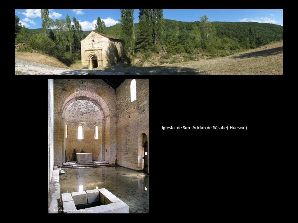 Posteriormente el Santo Cáliz se trasladó (al trasladarse también la sede episcopal) a San Adrián de Sásabe, en la localidad de San Adrián, cerca de A
