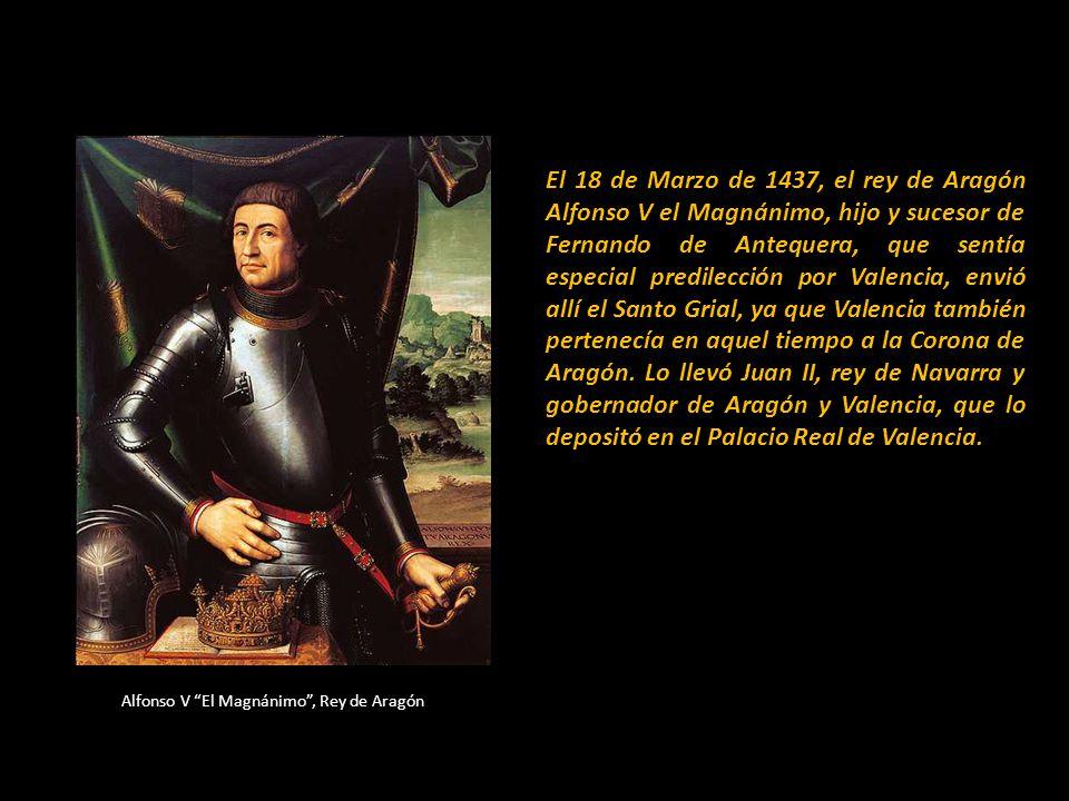 Martín El Humano, Rey de Aragón Más tarde fue trasladado a la Residencia del Rey Martín el Humano en Barcelona. En el Inventario de Bienes hecho en 14
