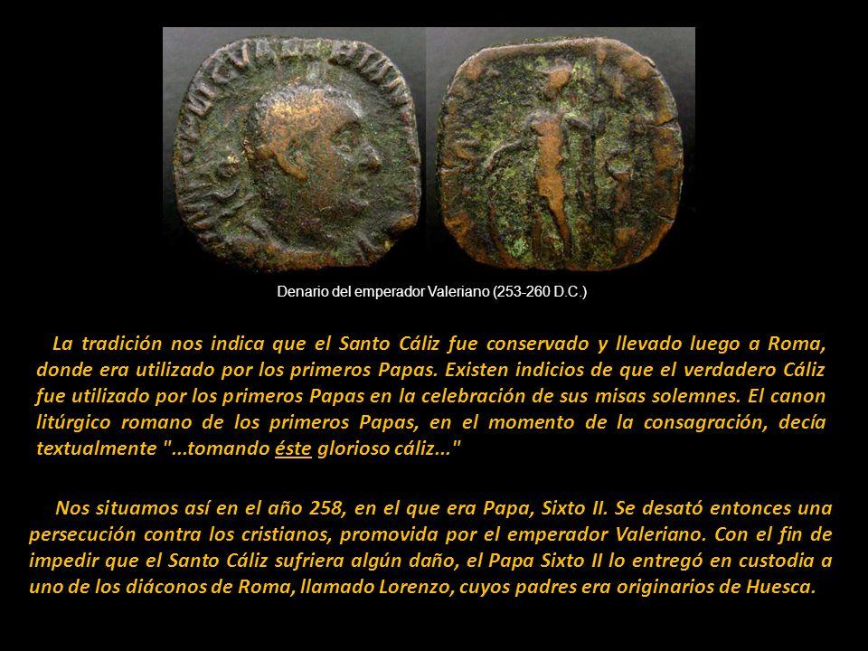 Nos situamos así en el año 258, en el que era Papa, Sixto II.