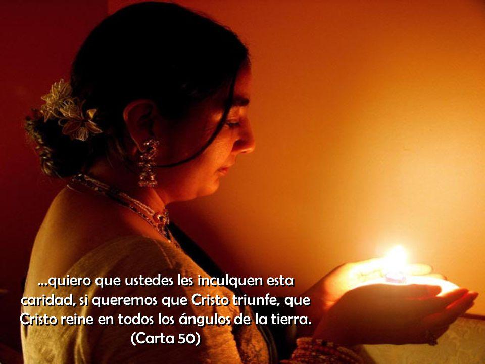 Ninguno diga: yo soy pobre; nada puedo dar. Pues la verdadera caridad no saca sus tesoros del bolsillo, sino del corazón. (Carta 55)
