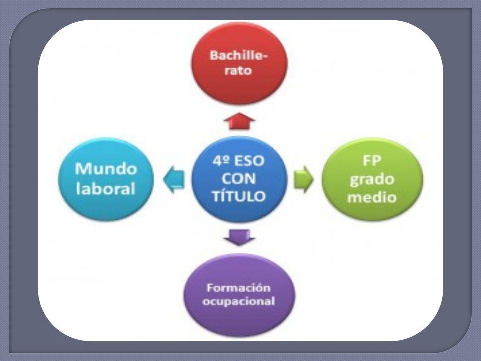 Educación Secundaria Postobligatoria y comprende dos cursos académicos.