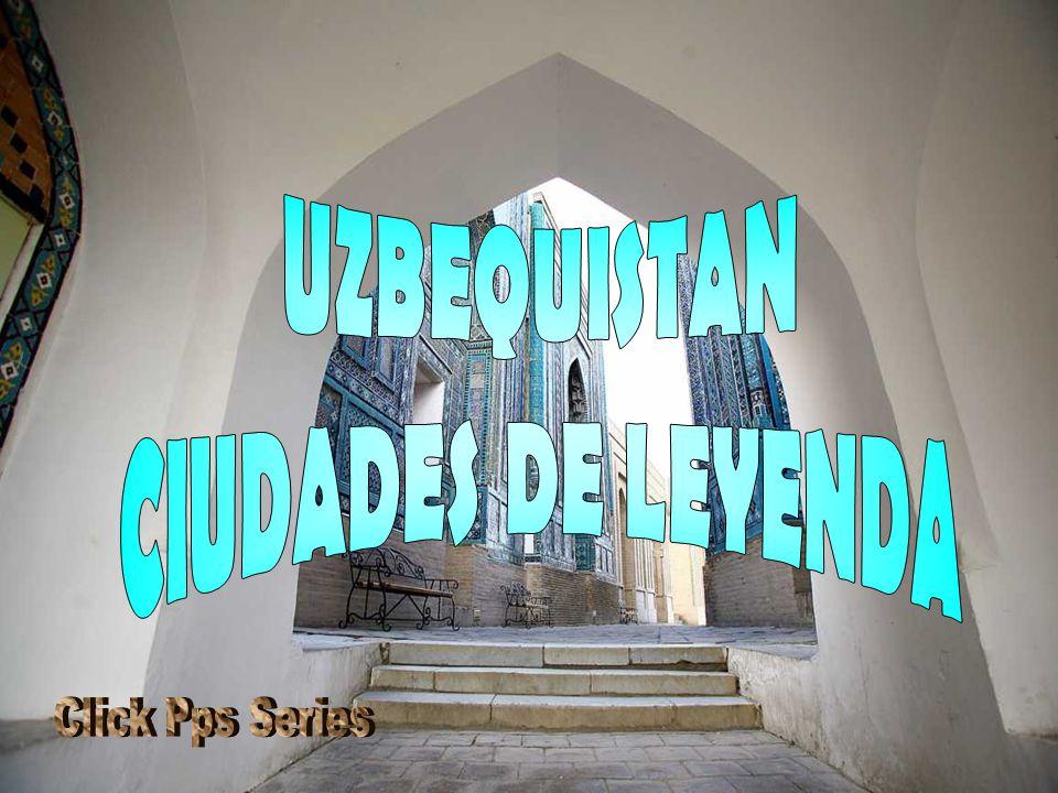 BUJARÁ Bujará es, junto con Samarcanda, una de las dos ciudades históricas de la cultura tayiko- persa en Uzbekistán.