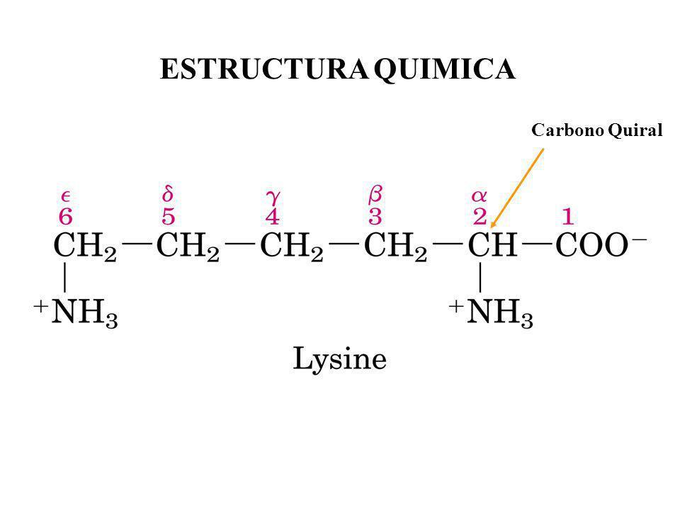 ESTRUCTURA QUIMICA Carbono Quiral